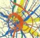 Budapest utasforgalmi térképe