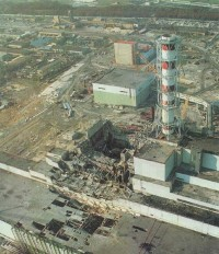 Felrobbant reaktor