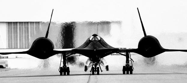 A Lockheed SR-71 kémrepülőgép