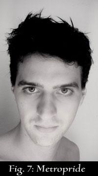 Orosz Péter borotválkozás után