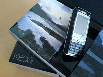 SonyEricsson K800i