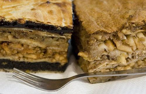 Flódni és maceszos-almás sütemény