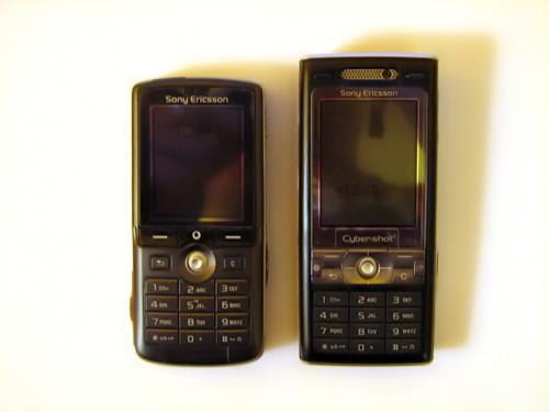 SonyEricsson K750i és K800i