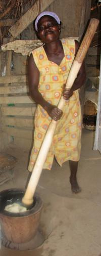 Ghánai gasztro