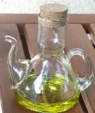 Olajos flaska