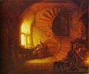 Rembrandt: Meditáló filozófus c. képe