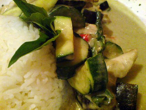 Zöld curry